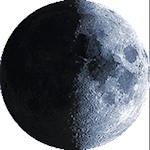 Lunárna fáza - 10. deň