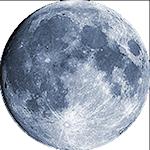 Lunárna fáza - 15. deň
