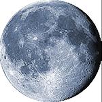 Lunárna fáza - 18. deň
