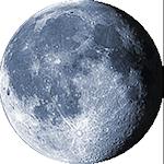 Lunárna fáza - 19. deň