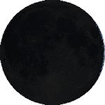 Lunárna fáza - 2. deň