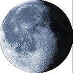 Lunárna fáza - 20. deň