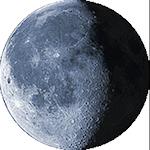 Lunárna fáza - 21. deň