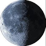 Lunárna fáza - 22. deň