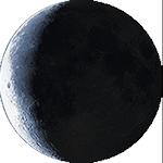 Lunárna fáza - 25. deň