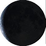 Lunárna fáza - 27. deň