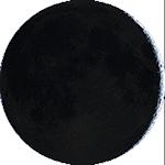 Lunárna fáza - 4. deň