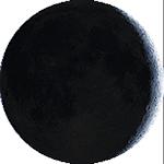 Lunárna fáza - 5. deň