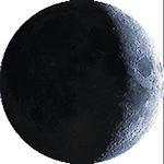 Lunárna fáza - 7. deň