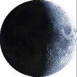 Lunárna fáza - 8. deň